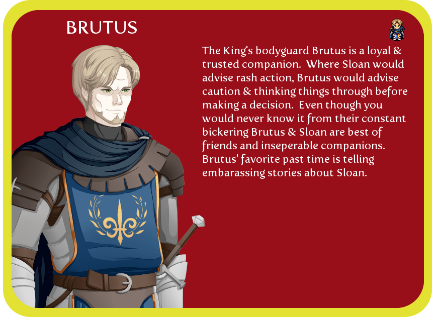 brutus conflicting loyalty